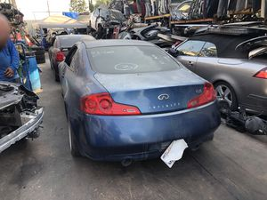 2007 Infiniti g35 coupe parting out for Sale in Santa Ana, CA