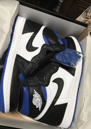 Jordan 1 Royal Toe size 8.5,9 $300 GS kids Youth size 7 Brand new with box and receipt for Sale in Kendale Lakes, FL
