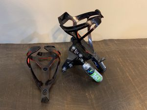 X-Lab Delta 425 Single Saddle Mount Carrier and TacX Water Bottle Cages for Sale in Township of Cottrellville, MI