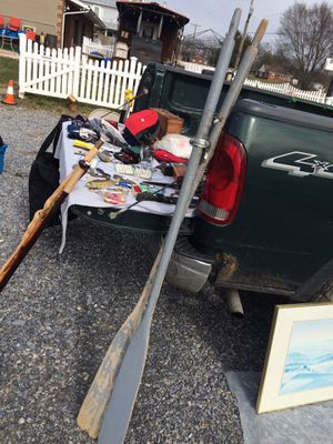 Vintage boat oars for Sale in Mount Crawford, VA