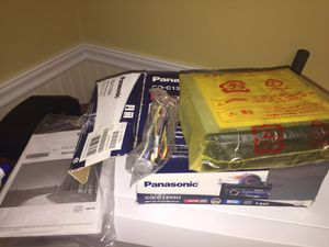Brand new Panasonic CQ-C3100U CD Player In Dash Receiver ...Pick up in Ashland ma only for Sale in Framingham, MA
