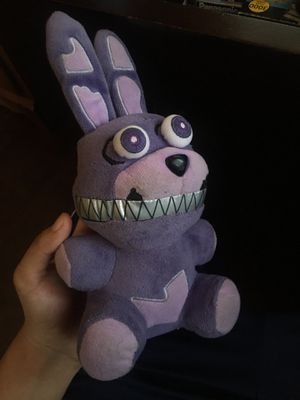 Five nights at Freddy plushie for Sale in Norco, CA