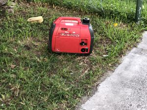 Quiet| Silent HONDA Generator [2,000 Watts] Portable With ECO-THROTTLE — Works Excellent Only 700 FIRM for Sale in Miami, FL