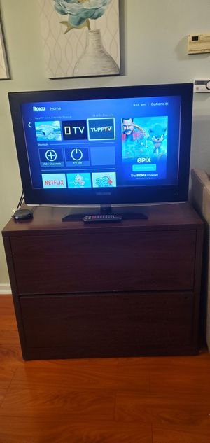 "Good _ 32"" INCH LED 1080/P ""CURTIS ""FULL H/D FLAT SCREEN TV FOR SALE (can deliver) for Sale in Lancaster, PA"