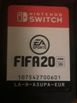 Fifa 20 Nintendo Switch for Sale in Phoenix, AZ