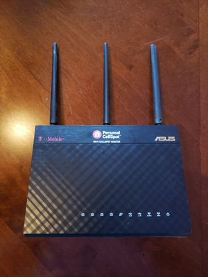 ASUS TM-AC 1900 WIFI Router + TP-LINK EXTENDER for Sale in Everett, WA
