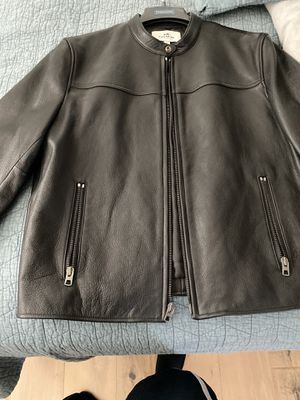 Coach leather racer jacket for Sale in Glendora, CA