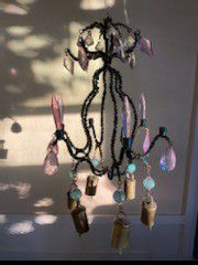 Lavender, blue chandelier, pier 1 for Sale in Chula Vista, CA