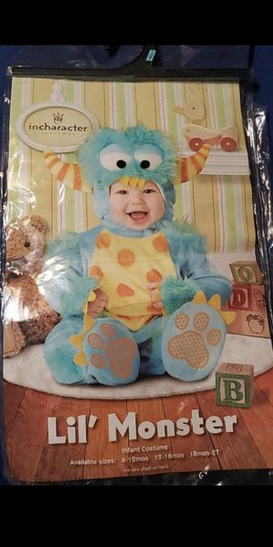 Little monster costume for Sale in Peoria, AZ