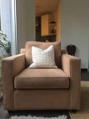 Set of 2 Crate and Barrel Lounge Chairs for Sale in Westlake, MD