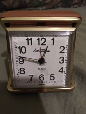 Like new antique portable alarm clock by Seth Thomas for Sale in Croydon, PA