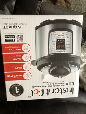 Instant pot lux brand new for Sale in Enumclaw, WA