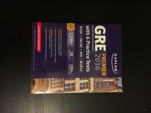 GRE Test Preparation Book for Sale in Baltimore, MD
