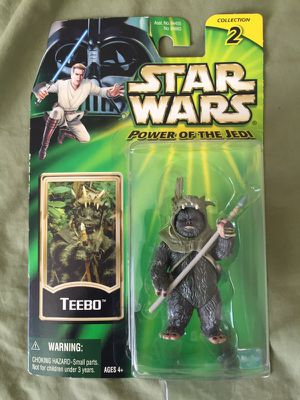"""Star Wars: Teebo {Ewok} Power Of The Jedi 3.75"""" Action Figure 2001 for Sale in Tempe, AZ"""