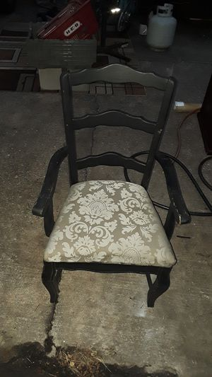 Antique black wooden chair for Sale in Austin, TX