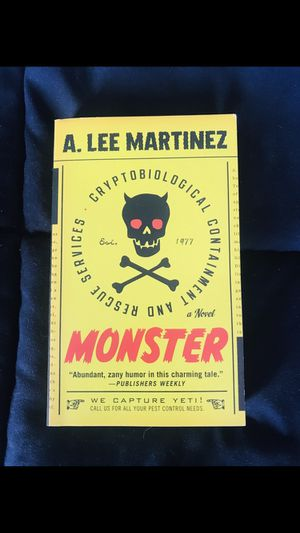 """Monster"" by A Lee Martinez for Sale in Harrisonburg, VA"
