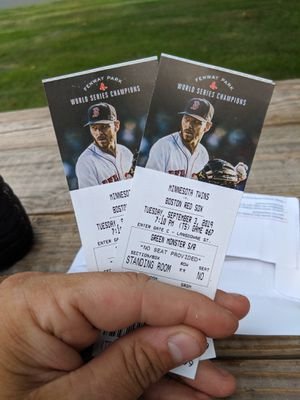 Red Sox GREEN MONSTER Tickets for Sale in Milford, CT