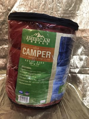 American trails adult camper sleeping bag for Sale in Jacksonville, FL