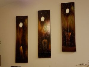 3 piece Wall Art for Sale in Odenton, MD