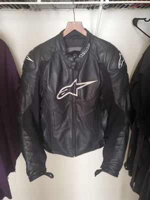 Alpinestars leather jacket for Sale in Adelphi, MD