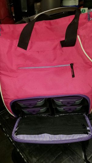 Lunch Bag with Tuppers all for $5 for Sale in Kent, WA