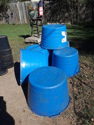 Garden buckets for Sale in Leon, KS