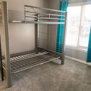 Metal Bunk Bed, Full Size, Futon for Sale in Lawrenceville, GA