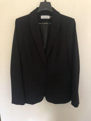Calvin Klein Blazer - Black (6) for Sale in Newport Beach, CA
