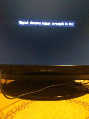 "Sharp dvd combo flat screen 19"" for Sale in Tulsa, OK"