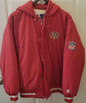 San Francisco 49ers starter parka jacket for Sale in Battle Ground, WA