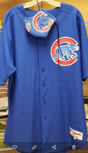 Chicago Cubs Facemask Protection & Jersey for Sale in Kissimmee, FL