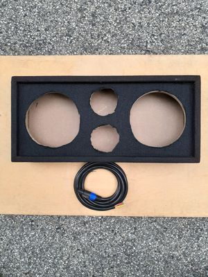 NEW! 8 inch full range speaker box with cable for Sale in York, PA