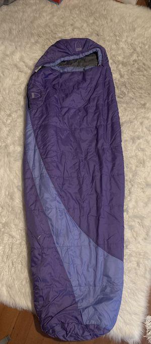 Sierra designs purple sleeping bag Rosa 3D 20 degree women's camping sleeping bag for Sale in Portland, OR