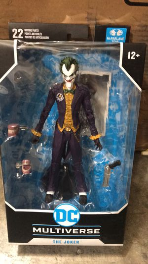 McFarlane Toys DC Multiverse, Arkham Asylum The Joker Action Figure for Sale in Tracy, CA