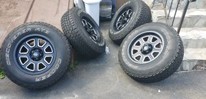 For sale wheels and tires 17x9 offset-6mm 5x127 for Sale in Bristol, CT