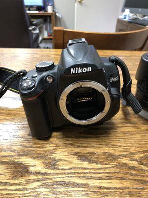 Nikon D5000 camera for Sale in Dallas, TX