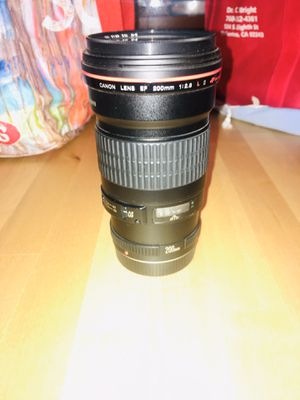 Canon lens for Sale in San Diego, CA