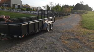 18ft utility trailer for Sale in Carroll, OH