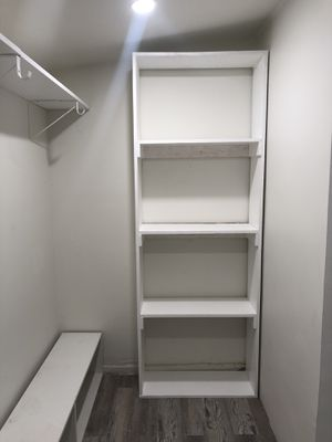 Custom shelving, shoe shelving, custom wall closets for Sale in Artesia, CA