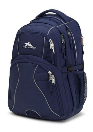 Brand NEW! High Sierra Dark Navy Blue Multipocket Backpack For Everyday Use/Work/Outdoors/Hiking/Biking/Camping/Sports/School/Traveling/Work for Sale in Carson, CA