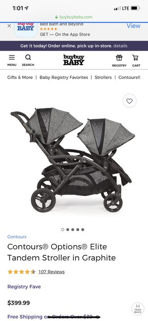 Double Stroller for Sale in McKee City, NJ