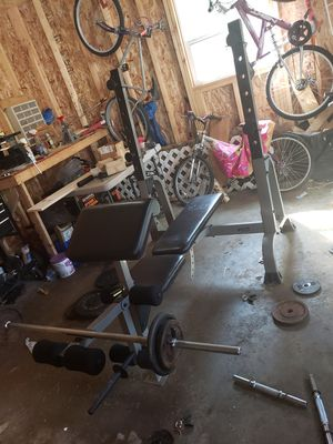 Weight set for Sale in Columbiaville, MI