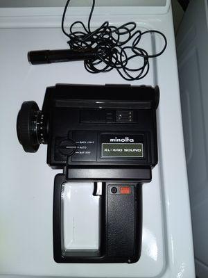 Minolta XL-440 sound super 8 video camera for Sale in Sioux Falls, SD