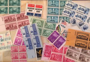 Vintage US Postage Stamps 1940's-1970's for Sale in Red Bank, NJ