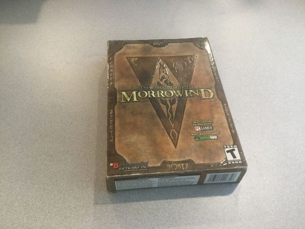 CD ROM Computer Game Morrowind