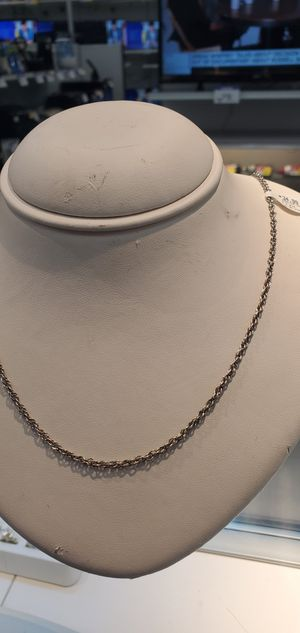 Sterling necklace for Sale in Stafford, TX