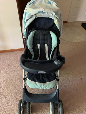 Graco Click connect Stroller +Baby car seat with base for Sale in Shoreview, MN