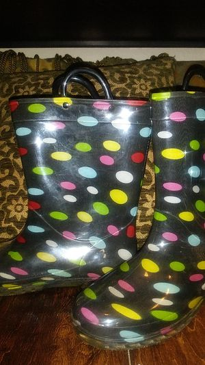 Girls Size 4 Rain boots for Sale in Lubbock, TX