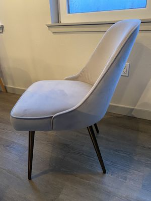 West Elm Midcentury chairs (4) lightly used. for Sale in Mercer Island, WA