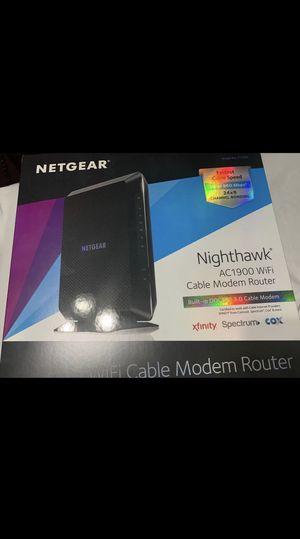 WiFi/ Modem Router Nighthawk Ac1900 for Sale in Kerman, CA